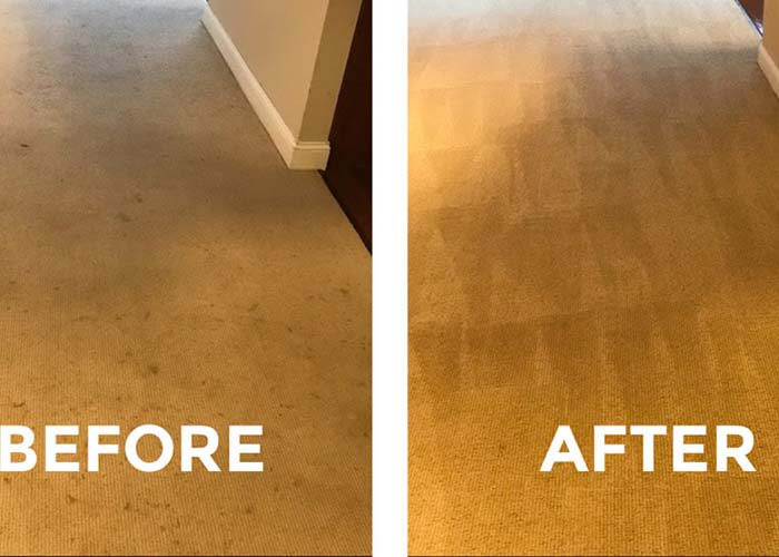 move out cleaning service before and after carpet
